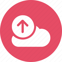 big, cloud, data, database, online, storage, upload1 icon