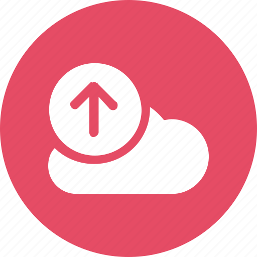 big, cloud, data, database, online, storage, upload1 icon