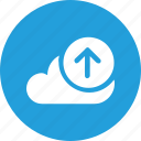 big, cloud, data, database, online, storage, upload2 icon