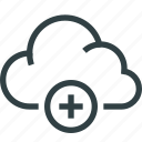 access, cloud, data, security, storage icon