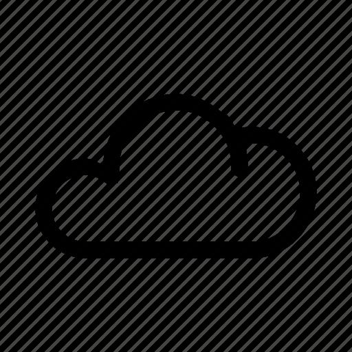 big, cloud, data, database, files, online, storage icon