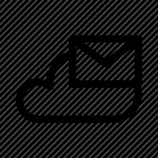 big, cloud, data, database, mail, online, storage icon
