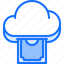 cloud, cryptocurrency, money, purse, repository, storage, technology icon