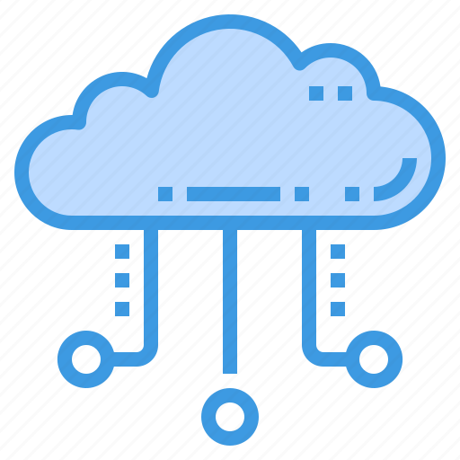 cloud, connection, database, server, storage, technology icon