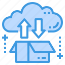 cloud, database, server, storage, technology icon