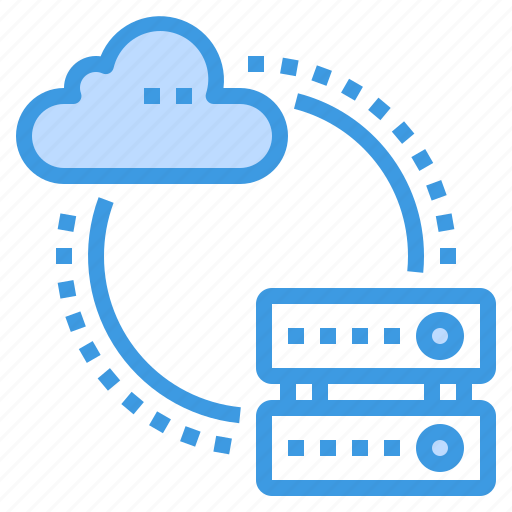 cloud, database, server, storage, technology, transfer icon