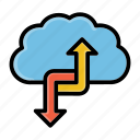 cloud, network, refresh, sync, syncing icon