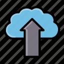 backup, cloud, upload icon