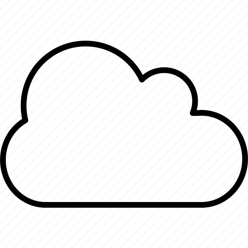 application, cloud, sky icon