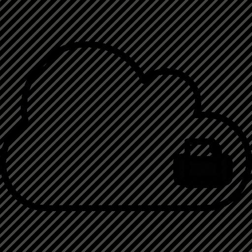 application, cloud, file, print icon