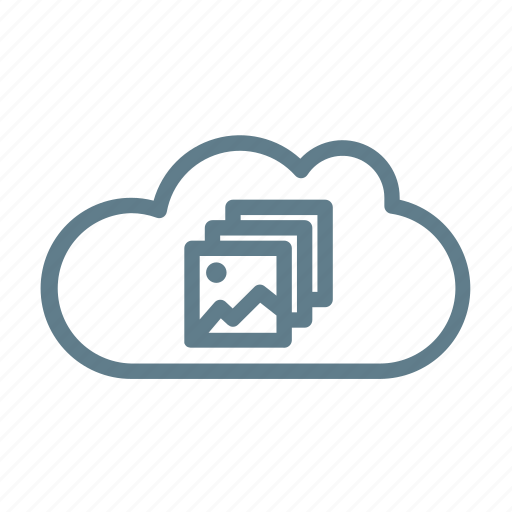 cloud, cloud collection, cloud storage, photo, photo collection, pictures, pictures upload icon