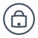 castle, data sequrity, lock icon
