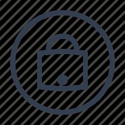 castle, data sequrity, lock icon