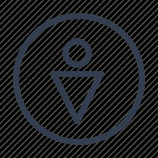 closet, male, man, user icon