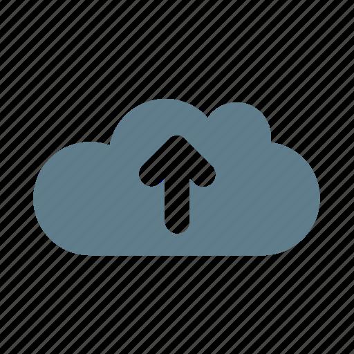 arrow, cloud, cloud service, cloud storage, up, upgrade, upload cloud icon