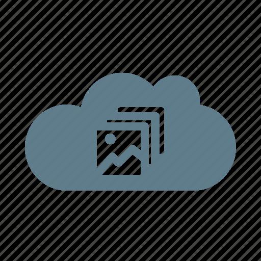 cloud, cloud collection, cloud service, cloud storage, photo, photo collection, pictures cloud icon