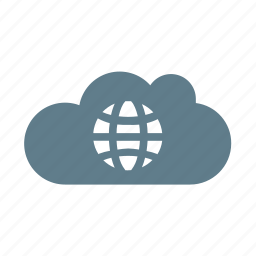 cloud, cloud service, cloud storage, ui cloud, universe, world, worldwide icon
