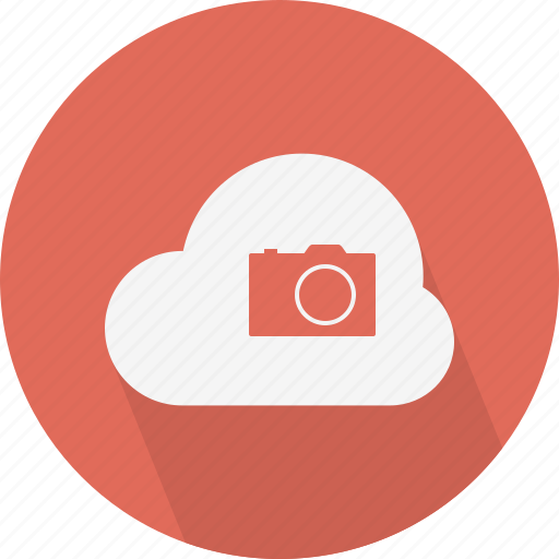 camera, cloud, photo icon