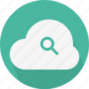 cloud, find, search icon