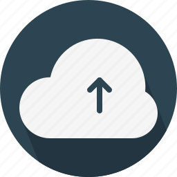 arrow, cloud, upload icon