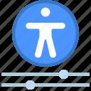 accessibility, controls, menu, accessible