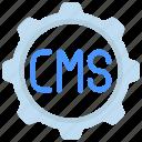 management, content, system, cog, gear, cogwheel