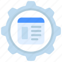 website, management, browser, window, site, page, web icon