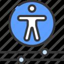 accessibility, controls, menu, accessible icon