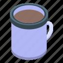 cafe, chocolate, cocoa, coffee, isometric, mug, thermos icon