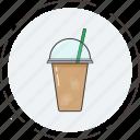 beverage, coffee, coffeetogo, drink, icecoffee icon