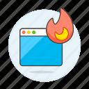 app, burning, coding, cpu, desktop, error, fire, flame, hogging, overheating, trending, window