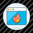 error, app, coding, window, hogging, desktop, fire, flame, burning, cpu, trending, overheating