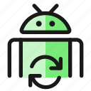 android, sync