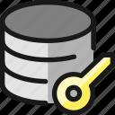 database, key