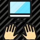 programming, monitor, type