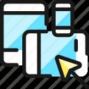 responsive, design, cursor