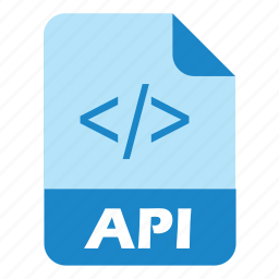 api, coding, extension, file icon