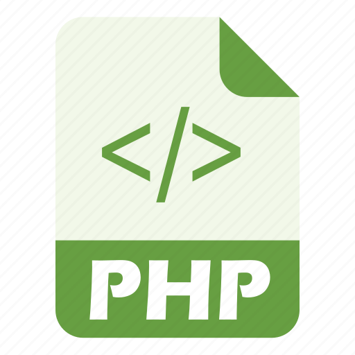 coding, extension, file, php icon