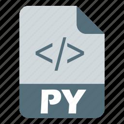 coding, extension, file, language, programming, python icon
