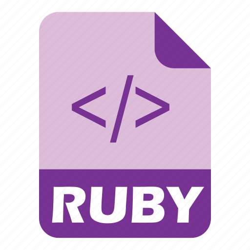 coding, extension, file, ruby icon