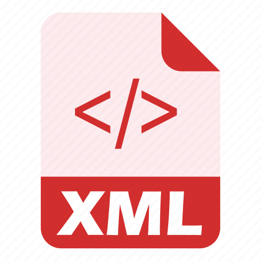 coding, extension, file, language, programming, xml icon