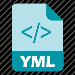 coding, extension, file, language, programming, yaml icon