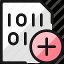 file, code, add