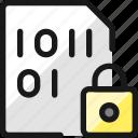 file, code, lock