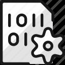 file, code, settings