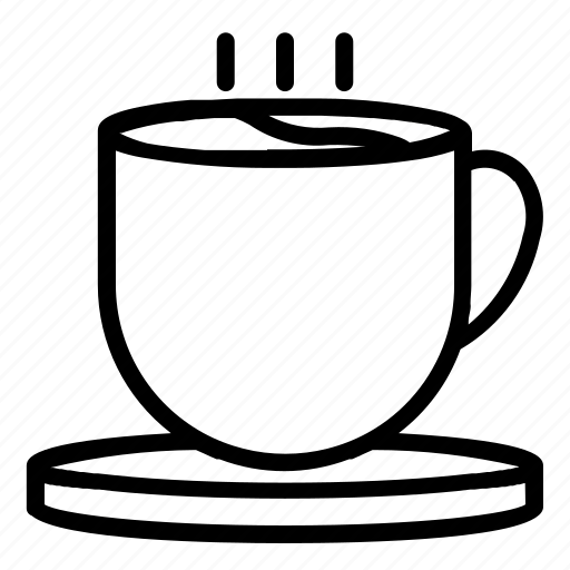 Cafe, coffee, cup, drink, hot, shop icon - Download on Iconfinder