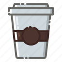 business, coffee, cup, machine, package, shop, shopping icon