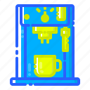 coffee, equipments, machine, shop, tools, drink, drinks icon