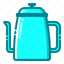 coffee, equipments, machine, shop, tools, drink, pot icon