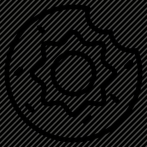 Dessert, donut, food, sweet icon - Download on Iconfinder